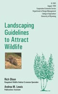 Landscaping Guidelines to Attract Wildlife cover