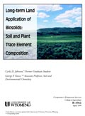 Long-Term Land Application of Biosolids: Soil and Plant Trace Element Composition cover