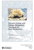 Porcupine Ecology and Damage Management Techniques for Rural Homeowners cover