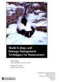 Skunk Ecology and Damage Management Techniques for Homeowners cover