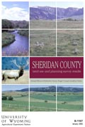 Sheridan County Land Use and Planning Survey Results cover