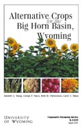 Alternative Crops for the Big Horn Basin, Wyoming cover