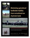 Minimizing Agricultural Landholder Liability from Recreational Use of Private Lands cover