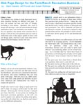 Web Page Design for the Farm/Ranch Recreation Business cover