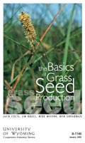 Basics of Grass Seed Production cover