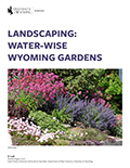 Landscaping: Water-Wise Wyoming Gardens cover