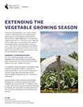Extending the Vegetable Growing Season cover