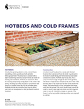 Gardening: Hotbeds & Cold Frames cover
