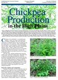 Chickpea Production in the High Plains cover