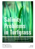 Salinity Problems in Turfgrass cover