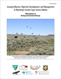 Grazing Influence, Objective Development, and Management in Wyomings Greater Sage-Grouse Habitat cover