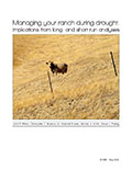Managing your ranch during drought: Implications from long and short-run analyses cover