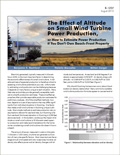 The Effect of Altitude on Small Wind Turbine Power Production cover