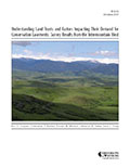 Understanding Land Trusts and Factors Impacting Their Demand for Conservation Easements: Survey Results from the Intermountain West cover