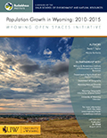 Population Growth in Wyoming: 2010-2015 cover