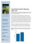 Wyoming Open Spaces: Second Home Growth in Wyoming, 2000-2010 cover