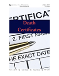 Planning Ahead, Difficult Decisions: Death Certificates cover