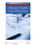 Planning Ahead, Difficult Decisions: Advance Health Care Directives cover