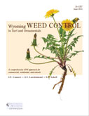 Wyoming Weed Control in Turf and Ornamentals cover