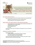 Wyoming Integrated Pest Management (IPM) Standard Operating Procedure (SOP) for Mice in Schools and Other Facilities cover