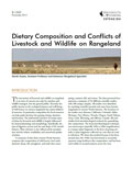 Dietary Composition and Conflicts of Livestock and Wildlife on Rangeland cover