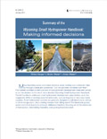 Summary of the Wyoming Small Hydropower Handbook: Making Informed Decisions cover