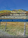 Future Directions for Usable Science for Rangeland Sustainability: Workshop Proceedings cover