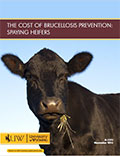 The Cost of Brucellosis Prevention: Spaying Heifers cover