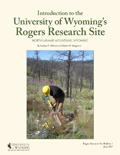 Rogers Research Site Bulletin 1: Introduction to the University of Wyoming's Rogers Research Site cover