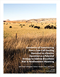 Economics of Transitioning from a Cow-Calf-Yearling Operation to a Stocker Operation as a Potential Strategy to Address Brucellosis Risk in Northwestern Wyoming cover