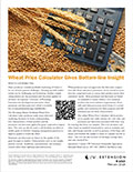 Wheat Price Calculator Gives Bottom-line Insight cover