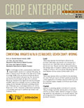 Crop Enterprise Budget: Conventional Irrigated Alfalfa (Established), Goshen County, Wyoming cover