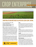 Crop Enterprise Budget: Conventional Dryland Winter Wheat/Fallow Rotation, Goshen County, Wyoming cover