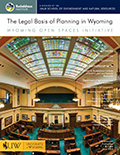 The Legal Basis of Planning in Wyoming cover