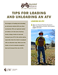 Tips for loading and unloading an ATV cover