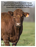 B-1338 National and State Economic Values of Cattle Ranching and Farming Based Ecosystem Services in the U.S. cover