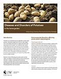 Diseases and Disorders of Potatoes in the Home Garden cover