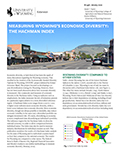 Measuring Wyoming's Economic Diversity: The Hachman Index cover