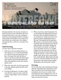 Waterfowl: After the Hunt cover