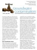 Groundwater Contamination cover