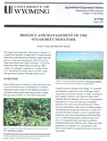 Biology and Management of the Sugar Beet Nematode cover