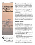 Chemigation Practices for Wyoming cover