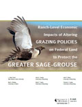 Ranch-Level Economic Impacts of Altering Grazing Policies on Federal Land to Protect the Greater Sage-Grouse cover
