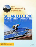 Solar Electric Investment Analysis - Part 4: Understanding Incentives cover