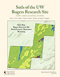 Rogers Research Site Bulletin 6: Soils of the University of Wyoming Rogers Research Site, north Laramie Mountains, Wyoming cover