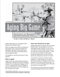 Aging Big Game cover