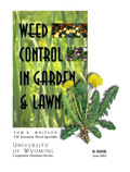 Weed Control in Gardens and Lawn cover