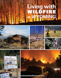 Living with Wildfire in Wyoming cover