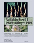 Plant Pathology Research and Demonstration Progress Report -- 2004 cover