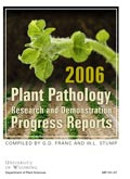 Plant Pathology Research and Demonstration Progress Report -- 2006 cover